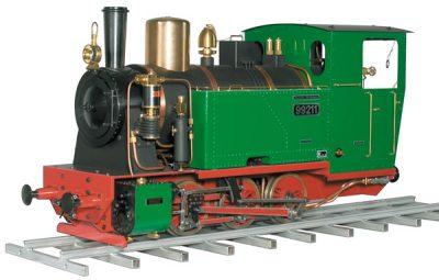 Zimmermann Dampflokomotive 99 211