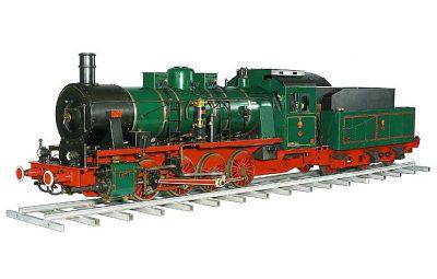 Zimmermann Dampflokomotive Preussische